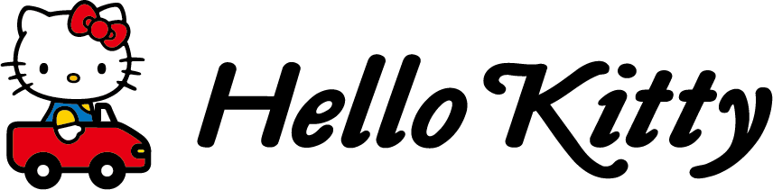 ロゴ:Hello Kitty
